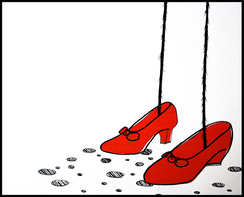 The Red Shoes of Imagination