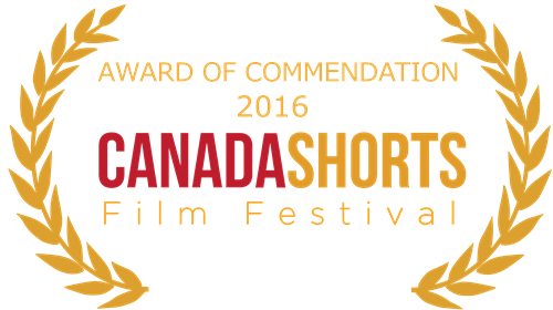 Canada shorts AWARD OF COMMENDATION laurel - 500