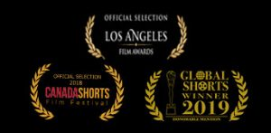 Three Sir Viss video awards